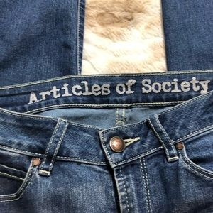 Articles Of Society Jeans - Articles Of Society Women 25 Blue Skinny Jeans